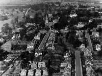St. Mary's Church, Aerial view, Wimbledon