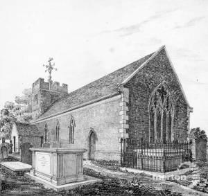 Morden Parish church, London Road, Morden