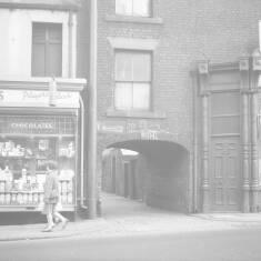 Shops in Fowler Street, South Shields