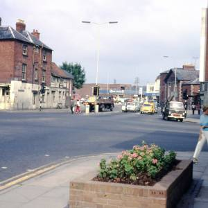 Commercial Square, Hereford, 1972