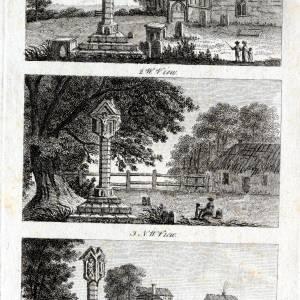 Putley Cross, Herefordshire, prints, C18