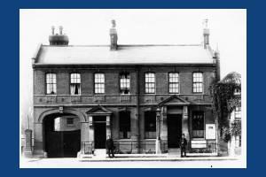 Mitcham Police Station demolished in 1964
