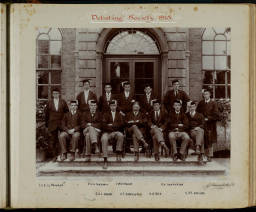 Photograph Album - 1911-1916_0024 Debating Society 1913.jpg