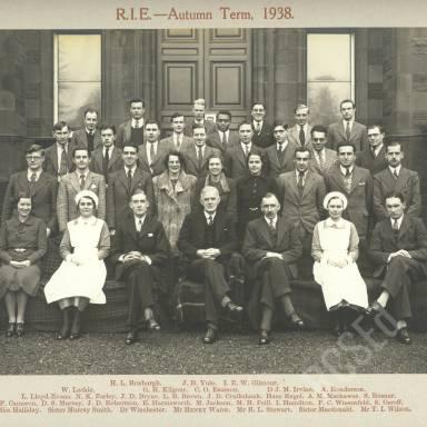 RIE Autumn Session, 1938