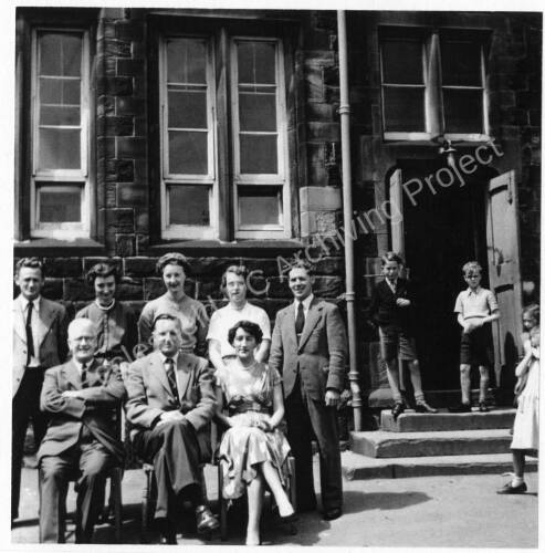 High Green Primary School staff in the 1950s.