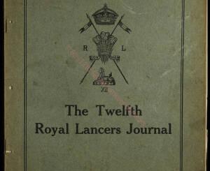 12th Lancers, 1911 December