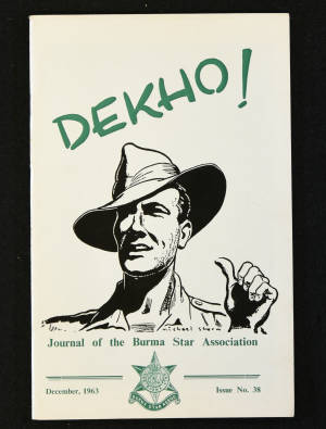 DEKHO! The Journal of The Burma Star Association - Issue No. 038, Year 1963