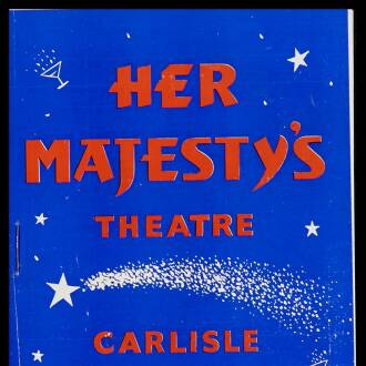 Her Majesty's Theatre, Carlisle, February 1959