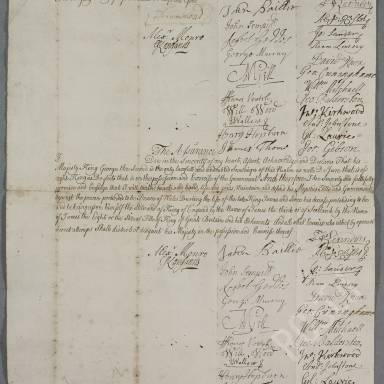 Oaths of Allegiance and Assurance To King George II and III