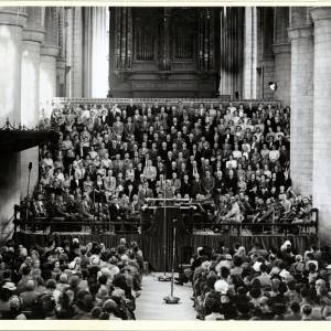 Three Choirs Festival, Conductor, Gloucester, 1950