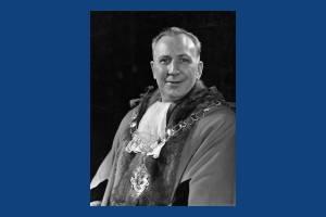 Alderman, G.W. Pearce, Mayor 1947-49