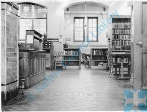 Carnegie Library, Reading Room, and Leanding library, College Road Crosby