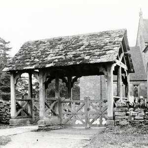 Bodenham Church Lych Gate, 1926