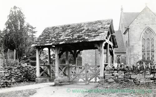 Bodenham Church Lych Gate, 1926