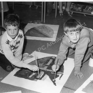 Coit Junior School Chapeltown Kids Castle Fun 1986 b