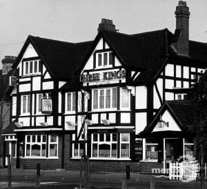 Three Kings pub, Upper Green East, Mitcham