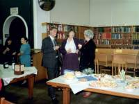 Retirement party for Wimbledon librarian, Charles Toase