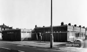 Raynes Park Library, Aston Road.