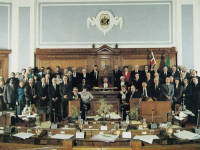 Merton Council Chamber, Wimbledon Town Hall, the Broadway, Wimbledon