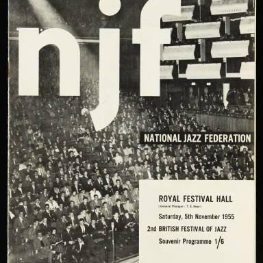 National Jazz Federation Royal Festival Hall - 1955 001