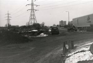 Merantun Way, Colliers Wood: Construction