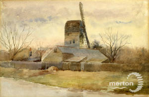 "William Sleath: ""The Windmill on Mitcham Common"""