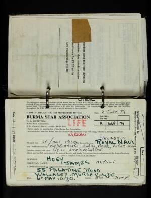 Hoey, James Mathur - H/3038/79