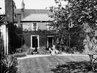 Claremont House, rear and garden
