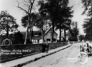 Morden Road and Morden Hall Farm