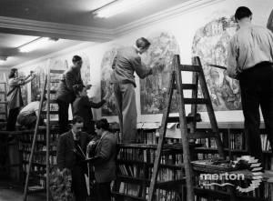 Mural, Wimbledon Children's Library.
