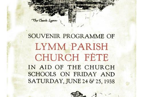 1938, Church Fete Programme, adverts