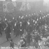 Armistice Day Parade, Bootle, 1923