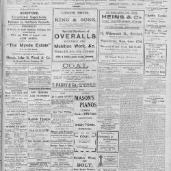 Hereford Journal - August 1916