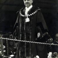 Alderman HT Hancock JP at the Crosby Charter celebration ceremony