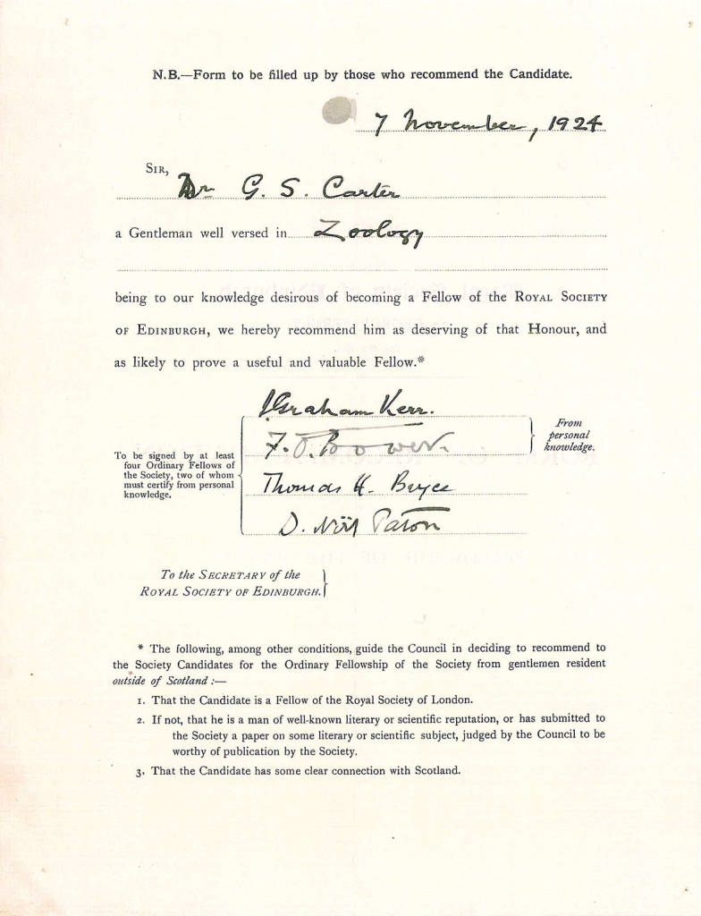 00A Carter FRSE Proposal Form 9 Mar 1925-1.jpg