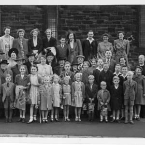 St Marks Sunday School Trip to Bridlington 1947.