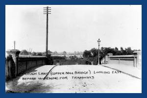 Plough Lane, Wimbledon: Copper Hill Bridge