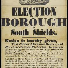 Election for the Borough of South Shields