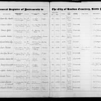 Burial Register 78 - December 1934 to September 1936