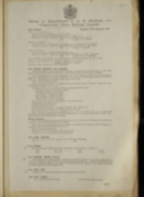 Routine Orders - June 1918 - April 1919 - Page 209