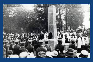 St. Mary's Parish Church: Unveiling of war memorial