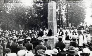 St. Mary's Parish Church: Unveiling of war memorial