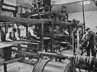Morris & Co. Merton Abbey: Hand Weaving Looms