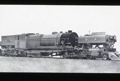 Burma Railways 2-8-0-0-8-2 Garratt locomotive