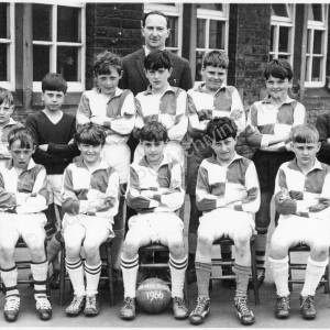 Burncross Junior School Football  Team 1966