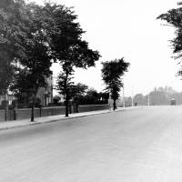 Liverpool Road, Crosby - looking north towards Myers Road West & East