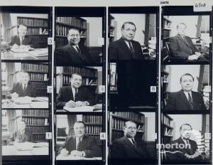 Alan Robinson, Town Clerk, Merton, 1973-80