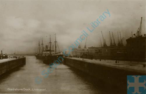 Gladstone Dock Bootle