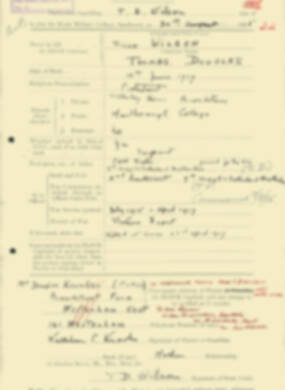 RMC Form 18A Personal Detail Sheets Aug 1935 Intake - page 222