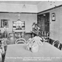 Dining Room Ursuline Convent, Our Lady and the Little Flower